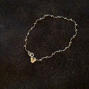 Jewelry - Mickey Mouse Charm Silver Anklet